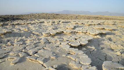 Saltwater Lake, Dallol, Danakil Desert, Ethiopia, Africa