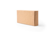 brown package box on isolated background - 80794503