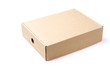 brown package box on isolated background - 80794701