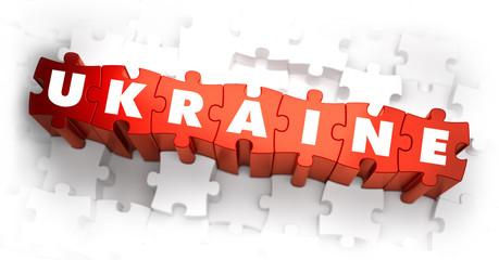 Ukraine - Word on Red Puzzles.