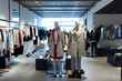 fashion store interior and mannequins - 80794979