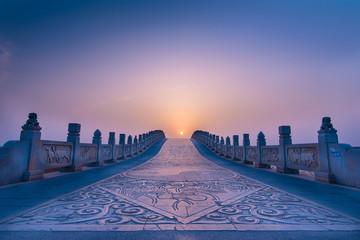 Stone bridge in china