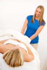 Massage: Woman Gets Foot Massage
