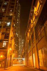 Enlighted Overcrowded apartments and Pedestrian Path