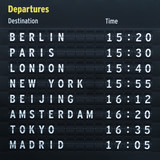 Flight destinations
