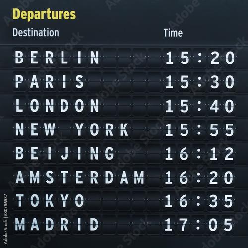 Flight destinations - 80796937