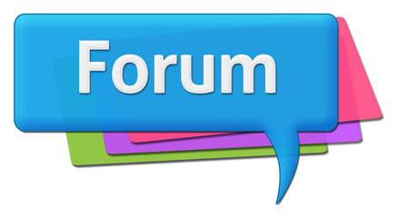 Forum Colorful Comments Symbol