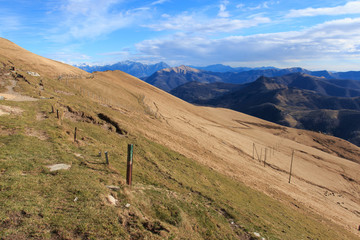 panorama dal monte Generoso
