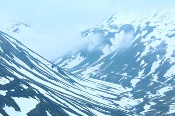 Summer mountain landscape (Oberalp Pass, Switzerland)
