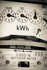 kWh electric meter