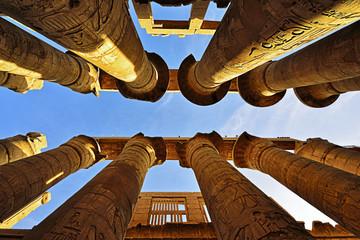 Großer Säulensaal im Karnak Tempel in Luxor - Ägypten