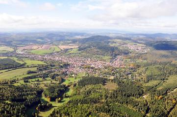 Luftbild Steinbach-Hallenberg / Thüringen
