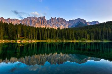 Alpine Lake in Summer