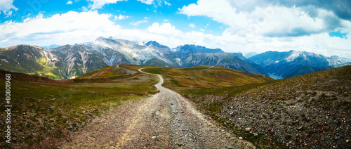Road in the Alps © offfstock