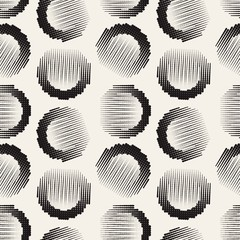 graphical abstract seamless pattern of circles