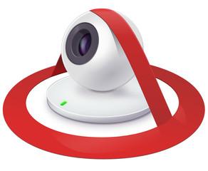 Webcam banned