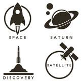 Space emblems - 80803119