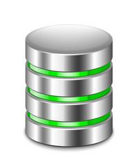 Database Icon. Vector