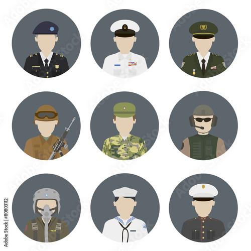 Military avatars - 80803112