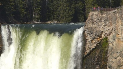 Lower Falls in Yellowstone National Park, Wyoming, USA