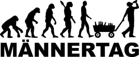 Männertag Evolution Alkohol