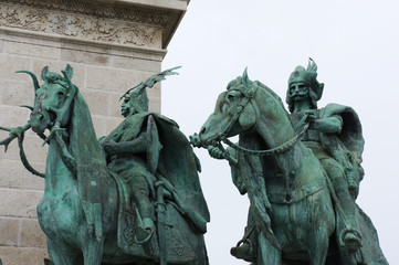 Place des heros in Budapest
