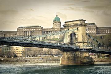 A bridge in Budapest