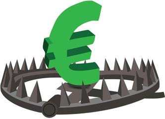euro sulla tagliola