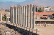 Reconstruction of ancient Roman colonnade, Agora. Izmir, Turkey - 80809114