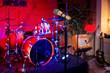 Leinwanddruck Bild - Rock concert stage