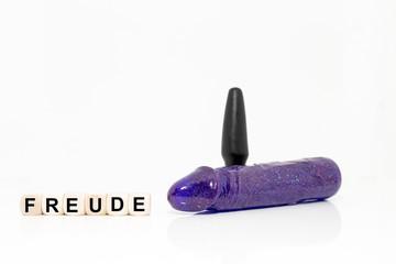 Dildo - Plug - Würfel - Freude