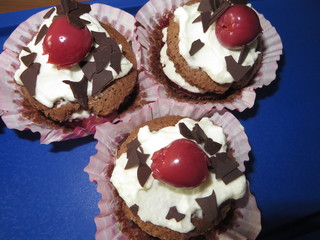 Schwarzwald Cupcakes