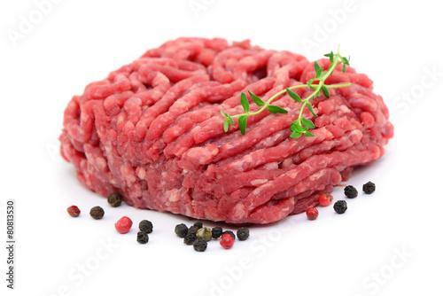 Fotobehang Vlees Gewürze Fleisch