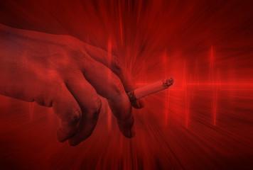 Blue Heart Lines and cigarette habit