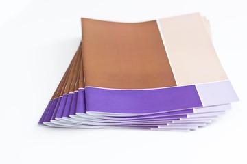 Gedruckte Broschüren