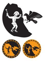 Prometheus and eagle