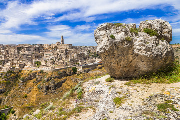 Matera - ancient town in Basilicata, Italy
