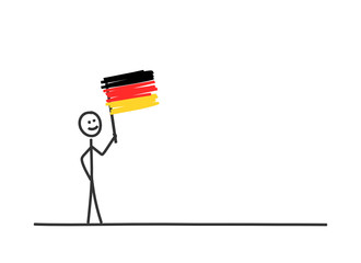 sm fahne schwenken deutschland I