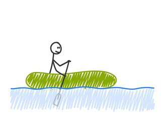 sm schlauchboot paddeln I