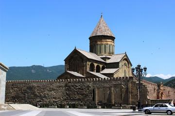 the oldest church in Tbilisi, Mtskheta