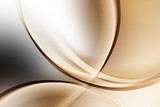 Light Gold Abstract