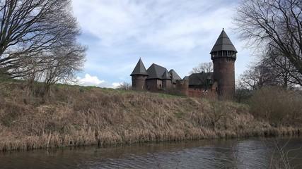 Castle Linn - Krefeld - Germany - Timelapse