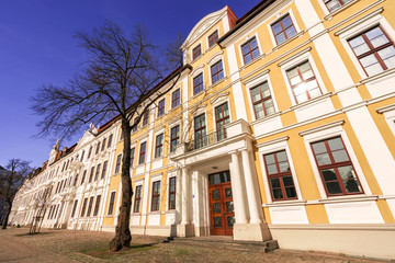 Landtag und Domplatz in Magdeburg