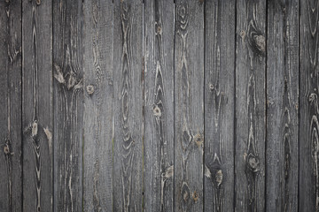 Old wooden planks with knots