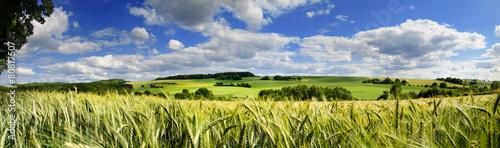 Foto op Plexiglas Platteland Saarland Panorama Natur –Landschaft bei Eiweiler