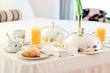 Delicious Room Service Breakfast