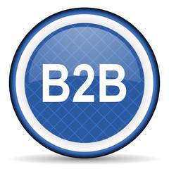b2b blue icon