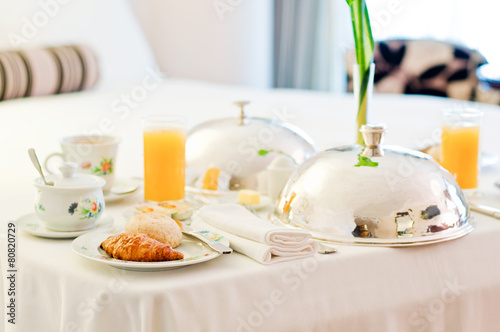 Delicious Room Service Breakfast - 80820729