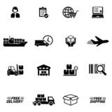 Logistic & delivery icons - 80821167