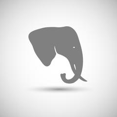 icon head of an elephant
